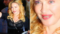 Madonna Flashes Her Grill In Rome -- How Ridiculous Is This?