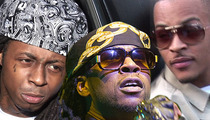 Lil Wayne / 2 Chainz / T.I. -- Entourage Member Allegedly Breaks Girl's Jaw