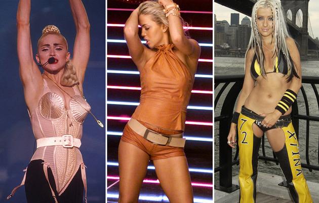 MTV Music Video Stars -- Then & Now