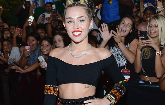 Miley Cyrus at the VMAs -- What Was She Thinking?!
