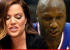 Khloe Kardashian & Lamar Odom's Secret Meeting -- She's Trying to Save Him