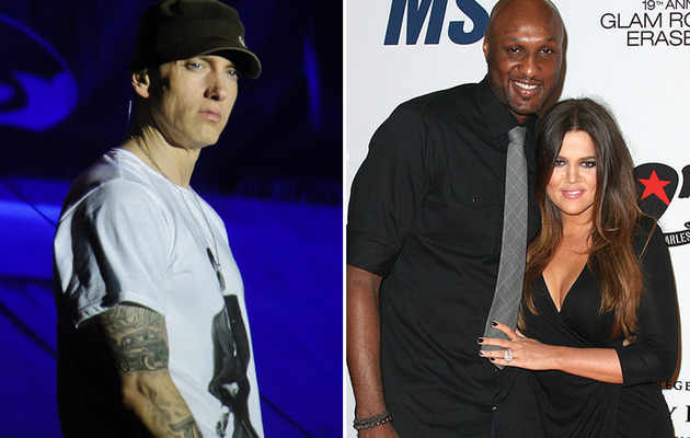 "Eminem Disses Khloe Kardashian & Lamar Odom In New Single ""Berzerk"""