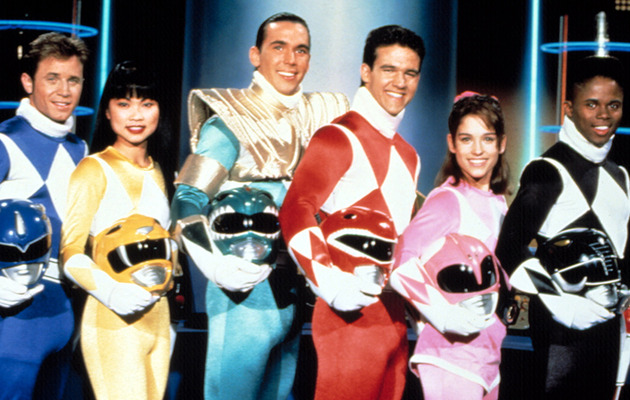 """Mighty Morphin Power Rangers"" -- Then & Now!"