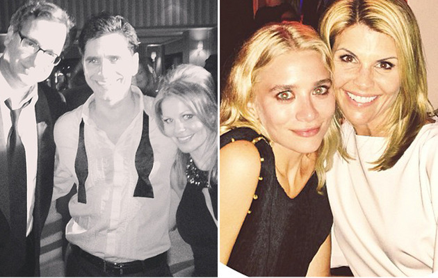 "John Stamos Celebrates 50th Birthday with ""Full House"" Family!"