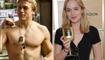 "Charlie Hunnam & Dakota Johnson Cast in ""Fifty Shades of Grey"""