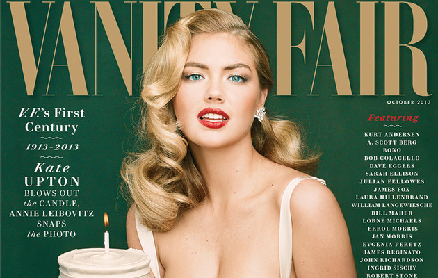 Kate Upton Provocatively Poses For Vanity Fair!