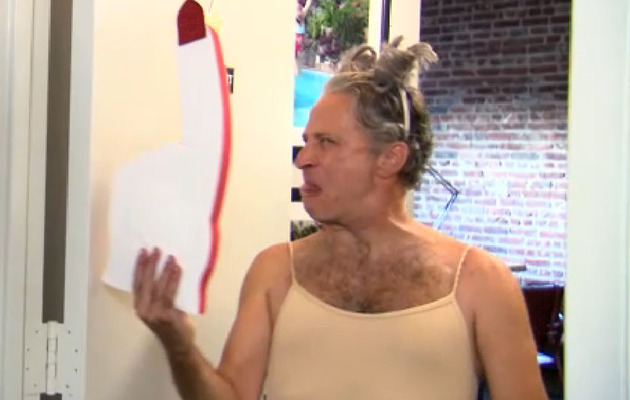Jon Stewart Returns, Mocks Miley's VMA Performance