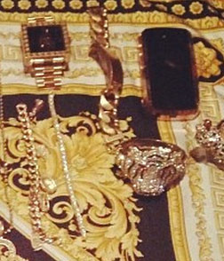 """<span>In a move that says, """"F You, I'm too rich to steal your crappy diamonds"""" ... rapper</span><strong>Tyga</strong><span>has posted a photo of the contents of his jewelry box hoping to publicly shame the guy accusing him of thievery ... and at the very least, it's damn impressive.</span><span></span>"""