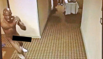 DMXXX -- Rapper Gets Naked ... Runs Laps On Hotel Floor