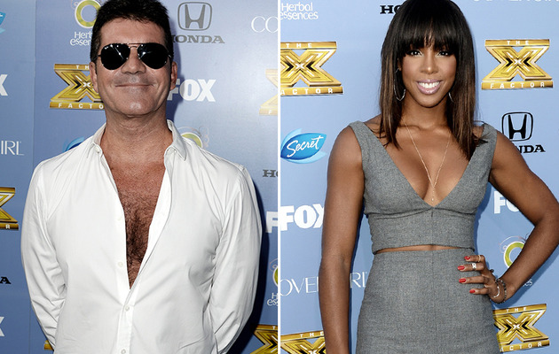 """X Factor"" or ""XXX Factor""? New Judge Kelly Rowland Flaunts Boobs!"