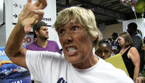 Swimmer Diana Nyad -- Barack & Michelle Obama Are My 'Homies' Now!