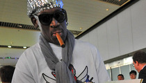 Dennis Rodman -- I'm Back from North Korea ... Empty Handed