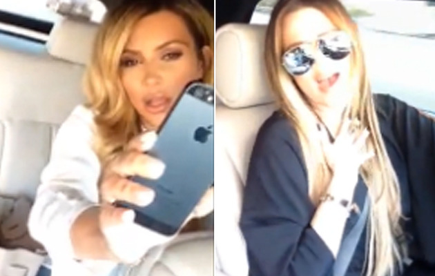 Khloe & Kim Kardashian Re-Emerge to Sing Drake Song