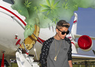 Justin Bieber's Pilot -- Weed Smell Was SO BAD...