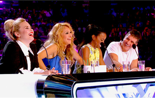 """The X Factor"" Best & Worst Auditions -- Simon Cowell Sings!"