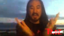 Steve Aoki -- Private Jet Jump Stunt Was 100% LEGIT