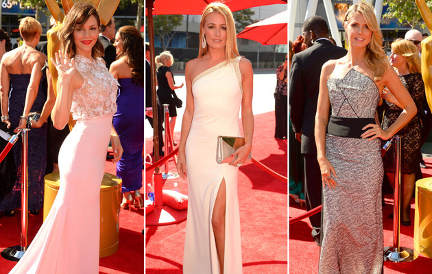 Stars Stun on 2013 Creative Arts Emmys Red Carpet