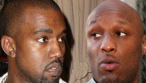 Kanye West -- Why He's Getting Prosecuted And Lamar Odom Isn't