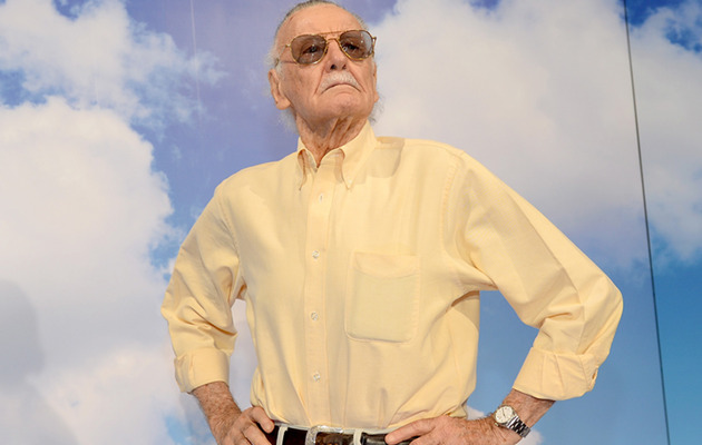 "Stan Lee Talks Batfleck, ""Avengers"" Sequel and ... Doritos?"