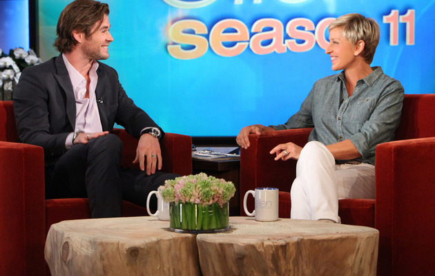 Chris Hemsworth Opens Up About Brother Liam Hemsworth