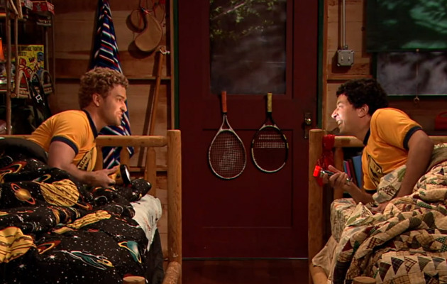 Viral Video: Jimmy Fallon & Justin Timberlake Sing at Sleepaway Camp!