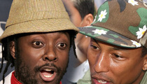 Will.i.am SUES Pharrell -- I.AM Who I.AM -- And You're Not
