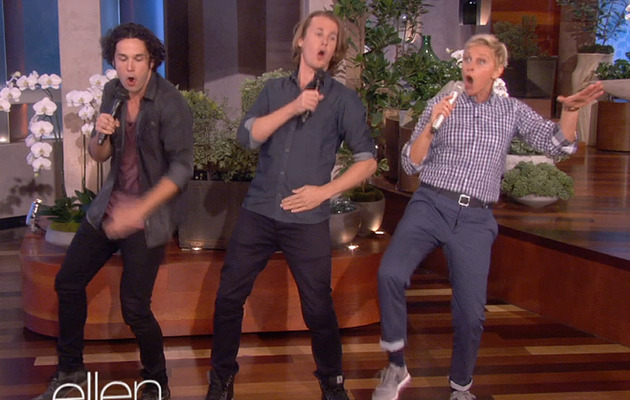 "Ellen DeGeneres Performs Viral Hit ""The Fox"" with Ylvis"