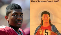 Florida State University -- Jesus! Stop Selling Jameis Winston Tees ... They're Blasphemous
