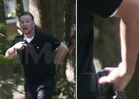 Jon Gosselin -- Threatens Photog With Gun ... Shot Fired