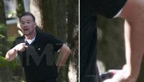 Jon Gosselin -- Threatens Photog With Gun ... Shot Fired
