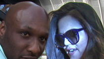 Lamar Odom -- Trashes His Father, Praises Kardashians As His 'ONLY Family'