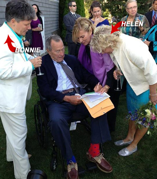 Wedding Presents For Gay Couples : Pres. George H.W. Bush -- Wedding Gift For Same-Sex Couple ... Now You ...