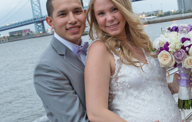 "Pregnant ""Teen Mom 2"" Star Kailyn Lowry Gets Married -- See the Dress!"
