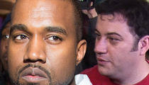 Kanye West -- HUGE Celeb Backing in Jimmy Kimmel War