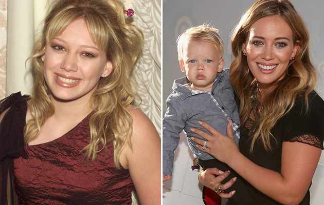 Hilary Duff Turns 26 -- See More Teen Stars with Kids!