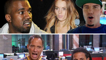 TMZ Live: Kanye West -- Lovefest with Paparazzi in Paris