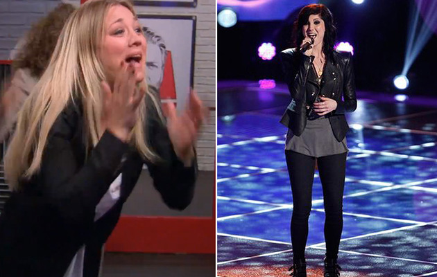 "Kaley Cuoco's Sister, Briana Cuoco, Auditions for ""The Voice"""