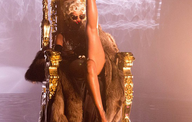 "Thongs and Twerking: Watch Rihanna's Raunchy ""Pour It Up"" Video"