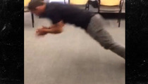 UFC Fighter Chad Mendes -- Watch Me Turn This Push-Up ... INTO A BACKFLIP!
