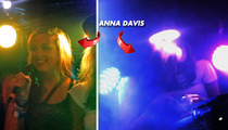 'Buckwild' Star Anna Davis -- Head SLAMMED By Metal Lighting Rig