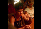 Justin Bieber -- Lighting Up ... In Possible Weed Smoking Pics