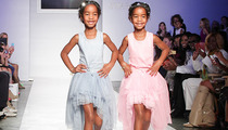 Diddy's Daughters Make Their Runway Debut!