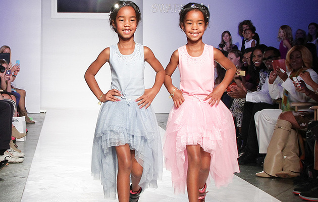 Diddy's Daughters Make Their Runway Debut!