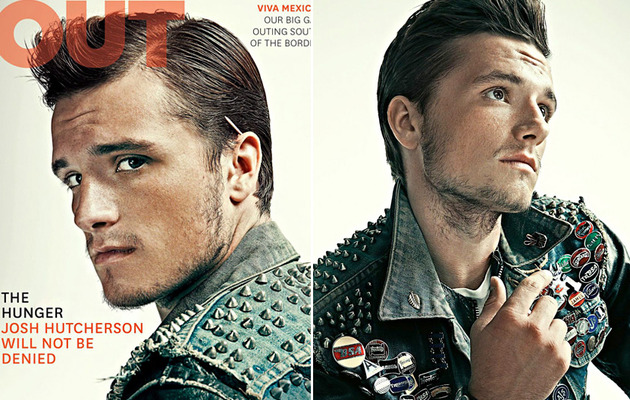 """Hunger Games"" Star Josh Hutcherson: I'm ""Mostly"" Straight"