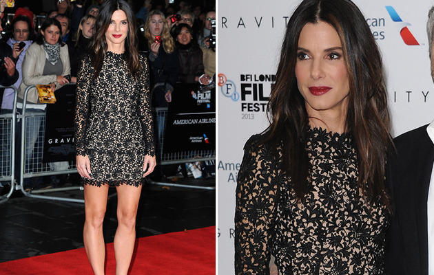 Sandra Bullock Looks Super Hot at London Film Festival