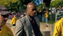 Adrian Peterson -- Strong Fan Support During Arrival to Metrodome