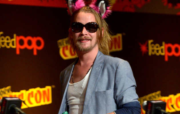 Macaulay Culkin Resurfaces at New York Comic Con -- See Him Now!