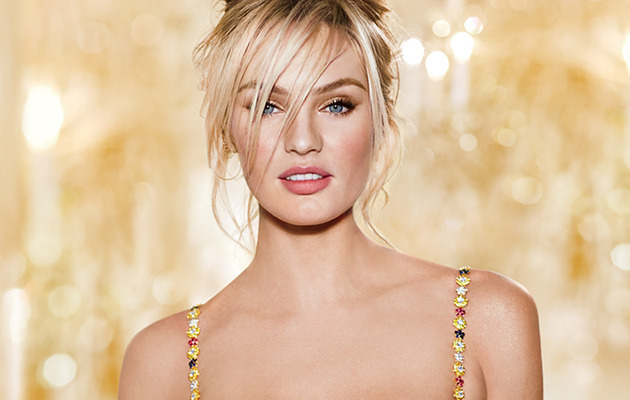 Candice Swanepoel Models $10 Million Dollar Bra