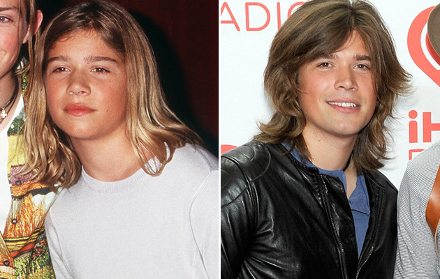 Zac Hanson Turns 28 -- See More Teen Idols Then & Now!