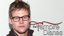 'Vampire Diaries' Star Zach Roerig -- I Got Custody of My Kid ... From Jailbird Baby Mama